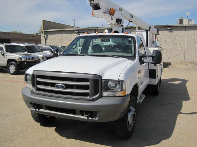 2000 Ford Super Duty F450 Bucket Truck, 7.3 Turbo Diesel, Plano, Texas 3