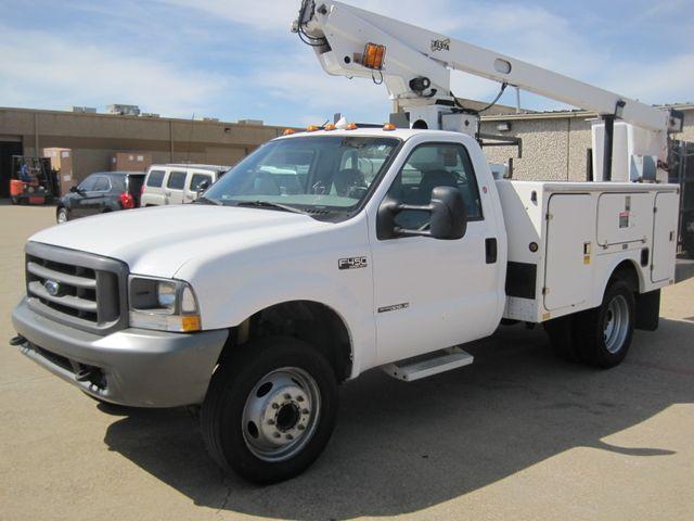 2000 Ford Super Duty F450 Bucket Truck, 7.3 Turbo Diesel, Plano, Texas 4