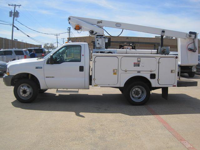 2000 Ford Super Duty F450 Bucket Truck, 7.3 Turbo Diesel, Plano, Texas 5