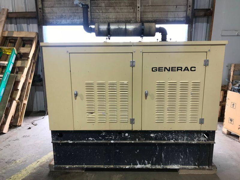 2000 Generac 99A  04643 35 KW GENERATOR   city TX  North Texas Equipment  in Fort Worth, TX