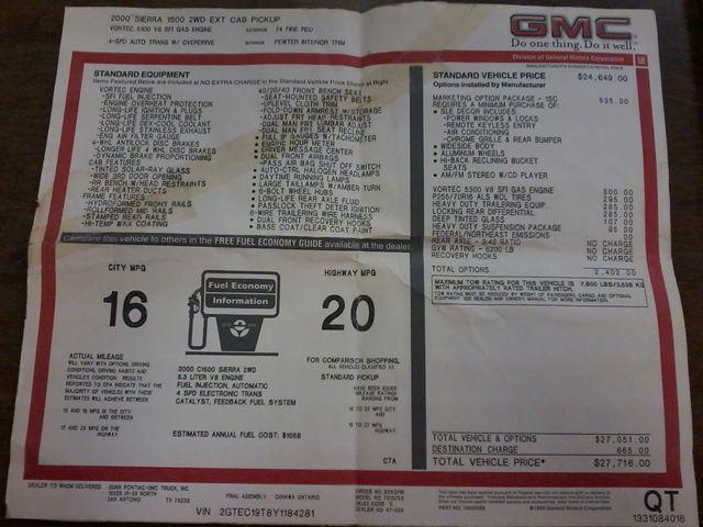 2000 GMC New Sierra 1500 SLE San Antonio, Texas 19