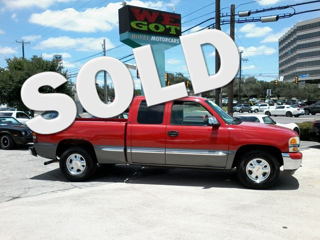 2000 GMC New Sierra 1500 SLE San Antonio, Texas 0