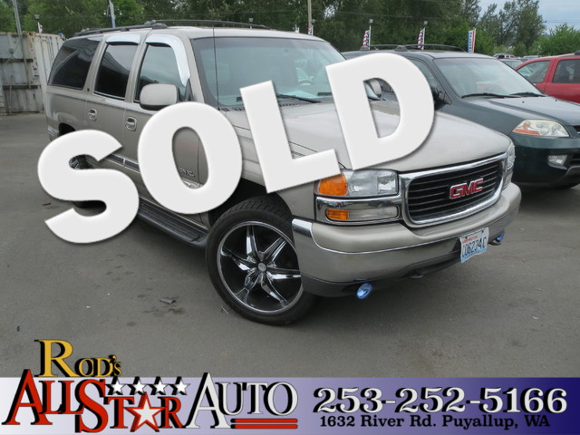 2000 GMC Yukon XL SLT 4WD The CARFAX Buy Back Guarantee that comes with this vehicle means that yo