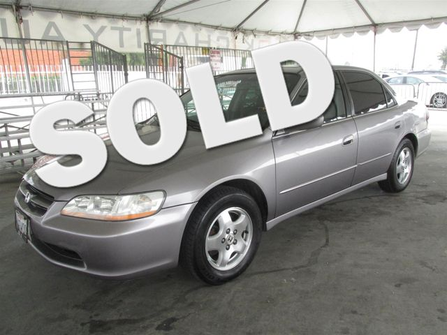 2000 Honda Accord EX wLeather This particular Vehicles true mileage is unknown TMU Please cal