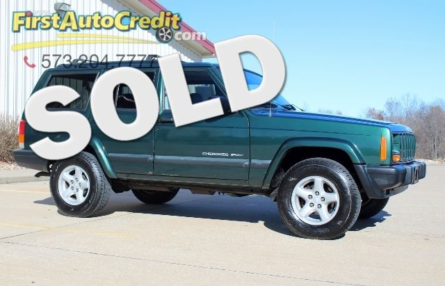 2000 Jeep Cherokee Sport | Jackson , MO | First Auto Credit in Jackson  MO