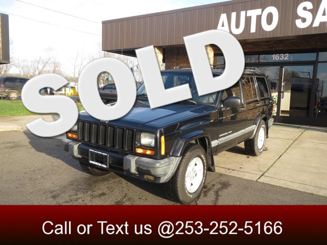 2000 Jeep Cherokee Sport 4WD The CARFAX Buy Back Guarantee that comes with this vehicle means that