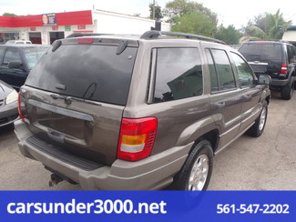2000 Jeep Grand Cherokee Laredo Lake Worth , Florida 3