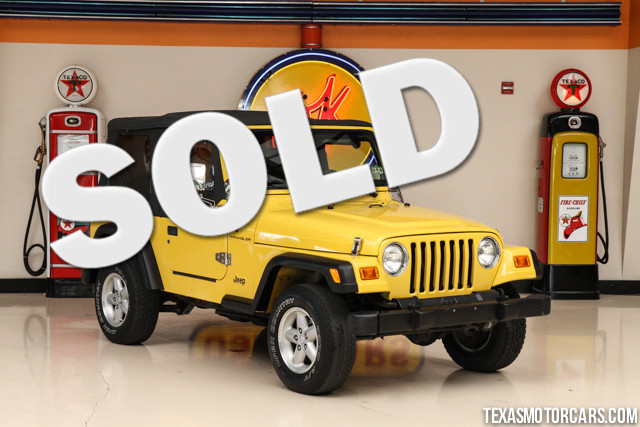 2000 Jeep Wrangler SE This Clean Carfax accident-free non-smoker 2000 Jeep Wrangler SE is in exce