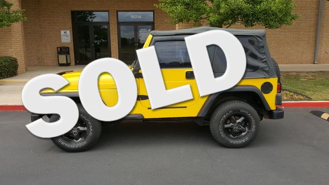 2000 Jeep Wrangler SE Arlington, Texas 0