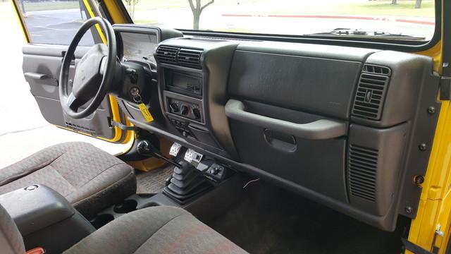 2000 Jeep Wrangler SE Arlington, Texas 22