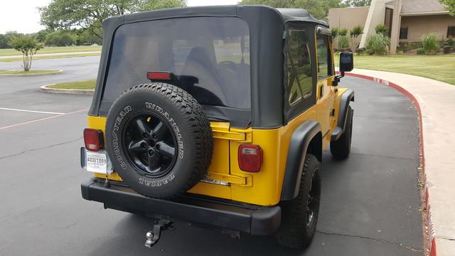 2000 Jeep Wrangler SE Arlington, Texas 11