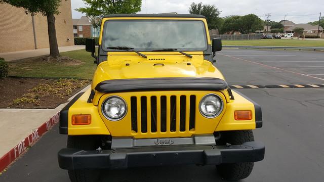 2000 Jeep Wrangler SE Arlington, Texas 1