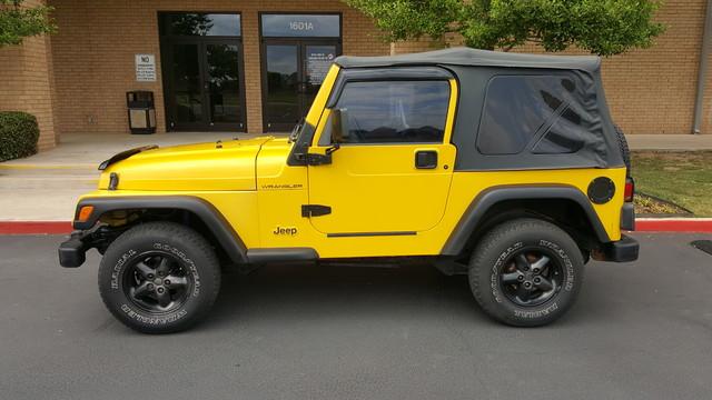 2000 Jeep Wrangler SE Arlington, Texas 2
