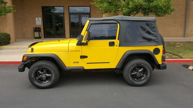 2000 Jeep Wrangler SE Arlington, Texas 7