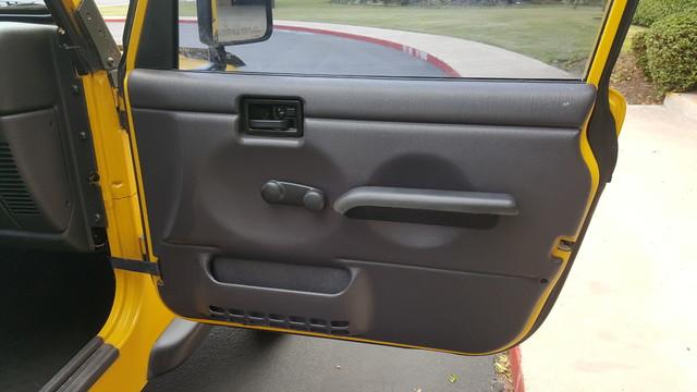 2000 Jeep Wrangler SE Arlington, Texas 20
