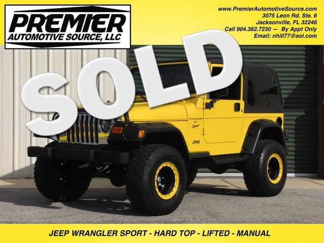 2000 Jeep Wrangler Sport Jacksonville , FL 0