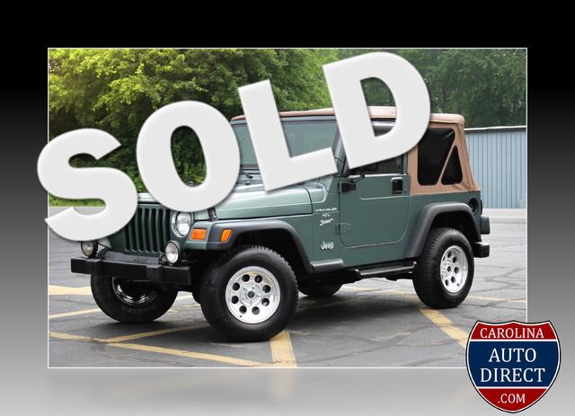 2000 Jeep Wrangler Sport Mooresville , NC 0