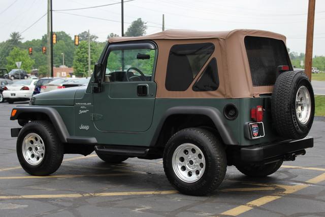 2000 Jeep Wrangler Sport Mooresville , NC 4