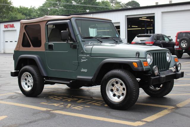 2000 Jeep Wrangler Sport Mooresville , NC 8