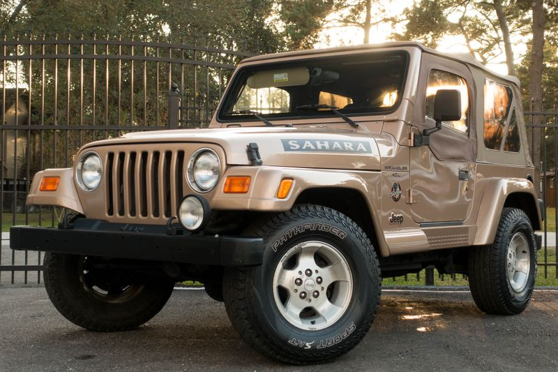 2000 Jeep Wrangler Sahara   Texas  EURO 2 MOTORS  in , Texas