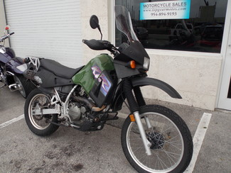 2000 Kawasaki KLR650 Dania Beach, Florida 1