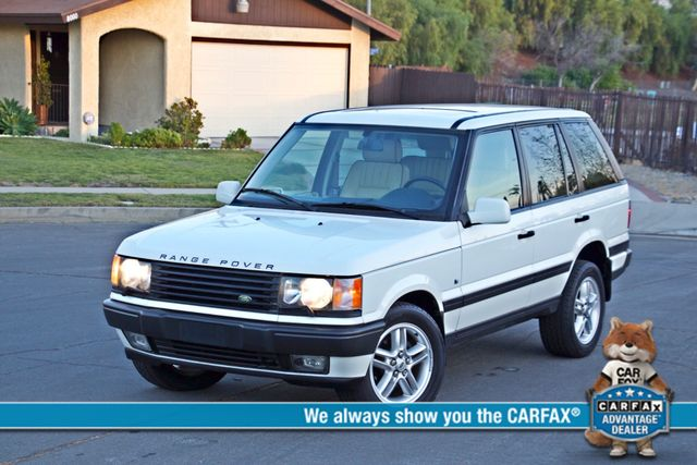 2000 Land Rover RANGE ROVER 4.6 HSE NAVIGATION ALLOY WHLS NEW TIRES SERVICE RECORDS SUNROOF Woodland Hills, CA 0