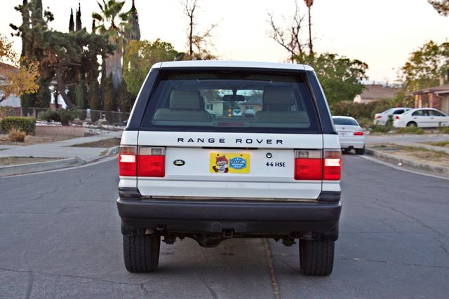 2000 Land Rover RANGE ROVER 4.6 HSE NAVIGATION ALLOY WHLS NEW TIRES SERVICE RECORDS SUNROOF Woodland Hills, CA 4