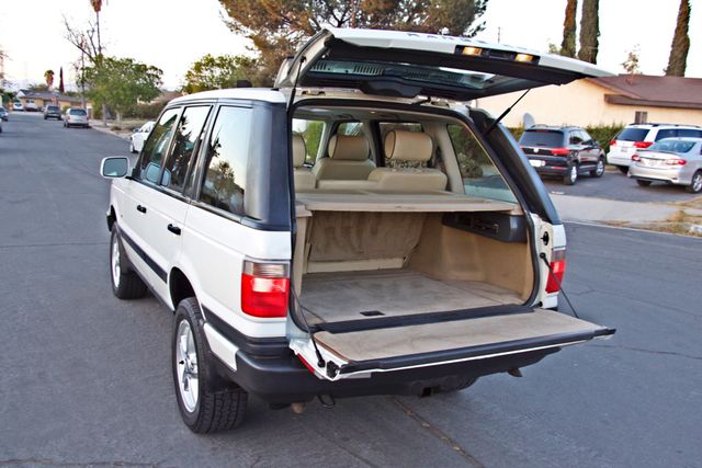 2000 Land Rover RANGE ROVER 4.6 HSE NAVIGATION ALLOY WHLS NEW TIRES SERVICE RECORDS SUNROOF Woodland Hills, CA 13