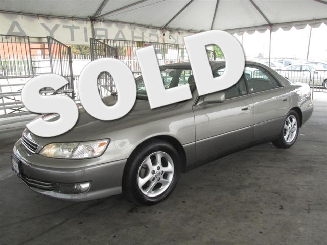 2000 Lexus ES 300 Please call or e-mail to check availability All of our vehicles are available