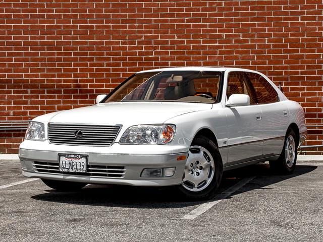 2000 Lexus LS 400 Platinum Burbank, CA 0