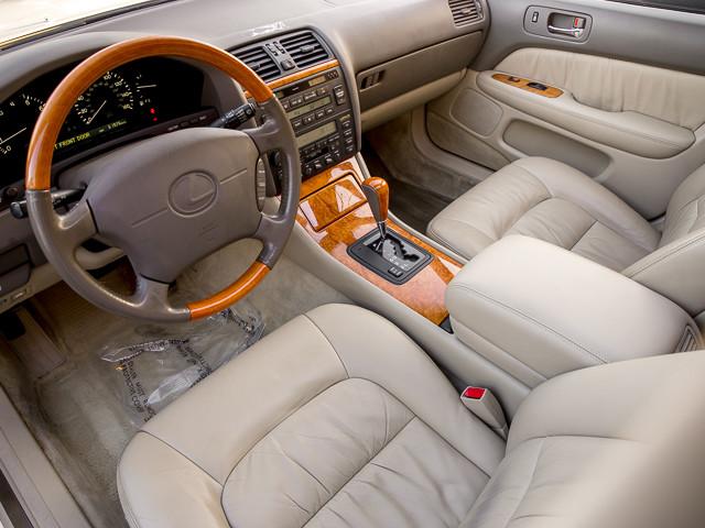 2000 Lexus LS 400 Platinum Burbank, CA 17