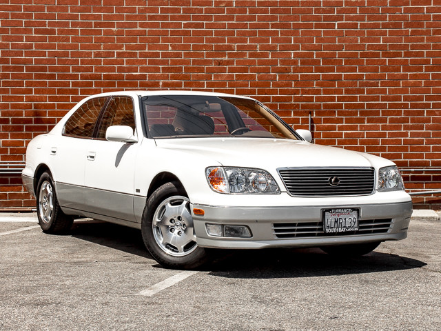 2000 Lexus LS 400 Platinum Burbank, CA 1