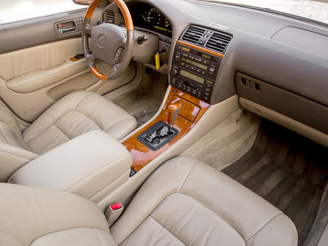 2000 Lexus LS 400 Platinum Burbank, CA 20