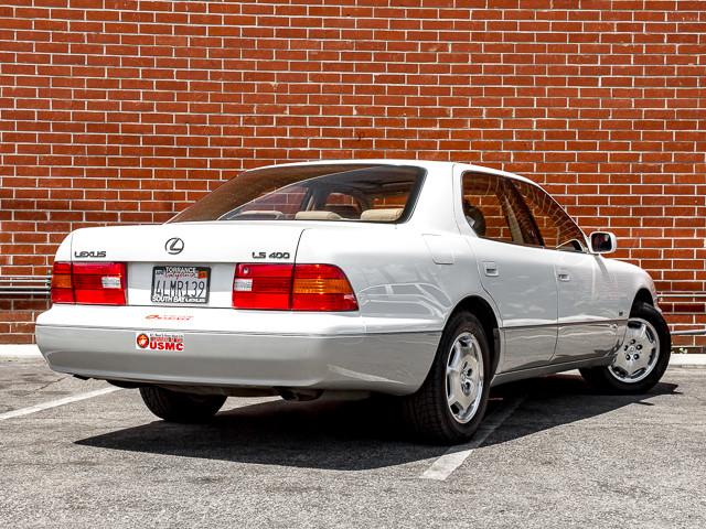 2000 Lexus LS 400 Platinum Burbank, CA 6