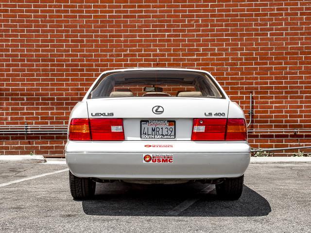 2000 Lexus LS 400 Platinum Burbank, CA 3