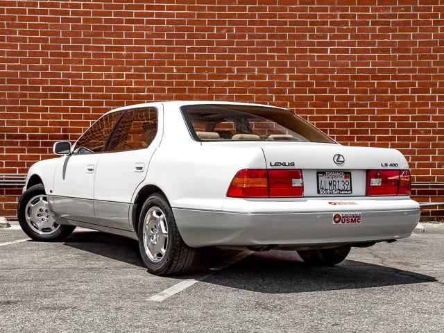 2000 Lexus LS 400 Platinum Burbank, CA 7