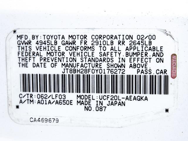 2000 Lexus LS 400 Platinum Burbank, CA 10