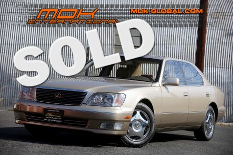 2000 Lexus LS 400 - Only 92K miles - Timing belt done  in Los Angeles