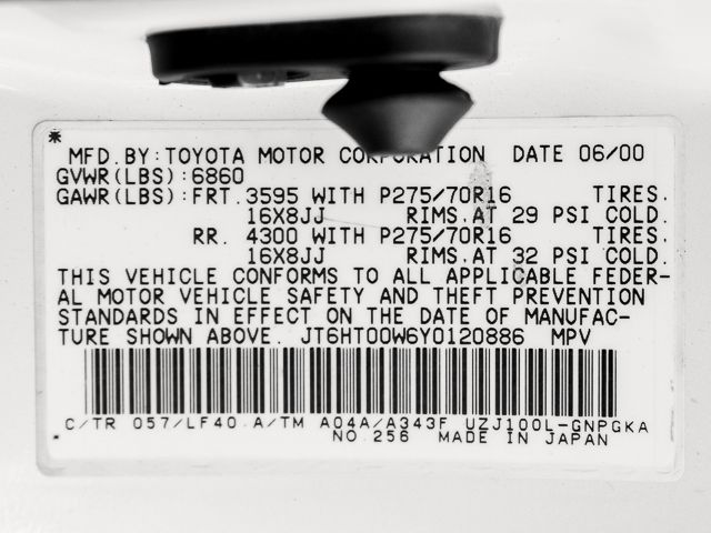 2000 Lexus LX 470 Burbank, CA 31