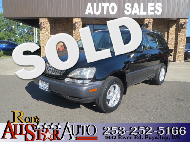 2000 Lexus RX 300 AWD The CARFAX Buy Back Guarantee that comes with this vehicle means that you ca