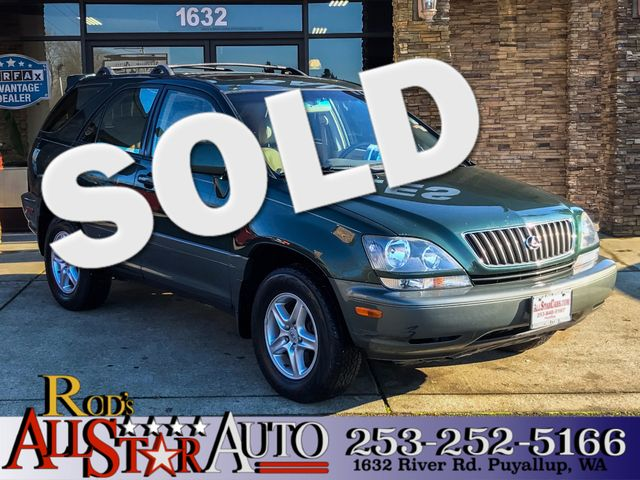 2000 Lexus RX 300 AWD This vehicle is a CarFax certified one-owner used car Pre-owned vehicles ca