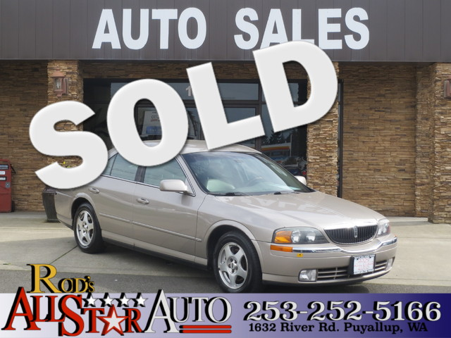 2000 Lincoln LS The CARFAX Buy Back Guarantee that comes with this vehicle means that you can buy