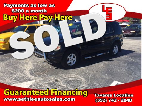 2000 Mercedes-Benz ML320  in Tavares, FL