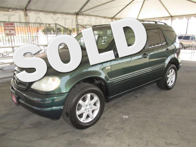 2000 Mercedes ML430 This particular vehicle has a SALVAGE title Please call or email to check ava