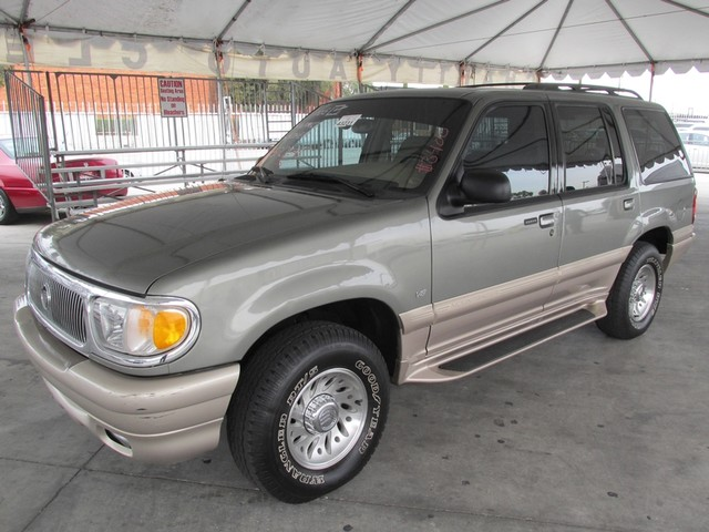 2000 Mercury Mountaineer Please call or e-mail to check availability All of our vehicles are ava