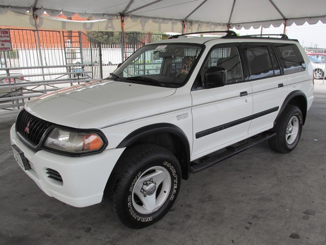 2000 Mitsubishi Montero Sport LS Please call or e-mail to check availability All of our vehicles