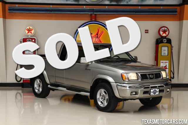 2000 Nissan Frontier XE This 2000 Nissan Frontier XE is in great shape with only 134 744 miles Th