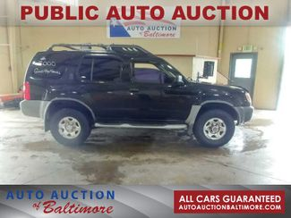2000 Nissan XTERRA    JOPPA, MD   Auto Auction of Baltimore  in Joppa MD