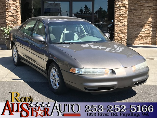 2000 Oldsmobile Intrigue GL The CARFAX Buy Back Guarantee that comes with this vehicle means that