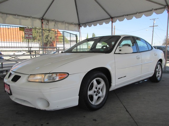 2000 Pontiac Grand Prix SE Please call or e-mail to check availability All of our vehicles are a